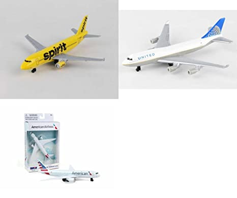 Amazon com: Daron Spirit, United, American Airlines Diecast