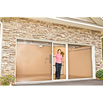Lifestyle Screens Garage Door Screen 7u0027H With Standard Screen Material (All  Widths U0026