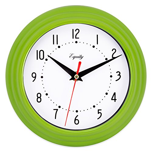 Equity by La Crosse 25016 Analog Wall Clock 8