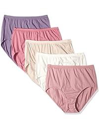 Women's Plus 5-Pack Cotton High Brief