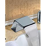 WZL-Bathtub Faucet - Contemporary - Waterfall / Sidespray - Stainless Steel (Chrome)