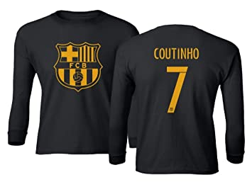 hot sales 563c4 23b1f Amazon.com : Spark Apparel Barcelona Soccer Shirt Philippe ...