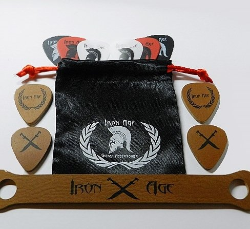 Ukulele Leather Picks Hanger Guitar product image