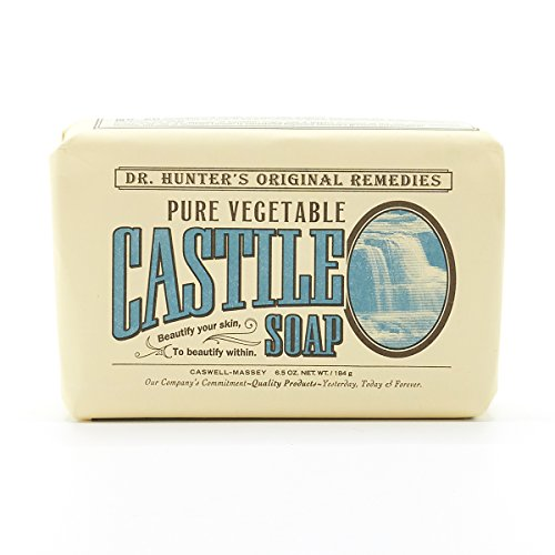Caswell-Massey Dr Hunter's Castile Soap, 6.5 Ounce - Pure Vegetable Oil Soap