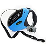 Lifewit 16Ft Retractable Dog Leash Dog Walking Leash for Medium Large Dogs up to 110lbs with Free Dog Waste Dispenser
