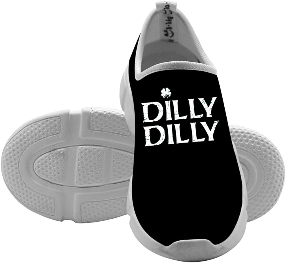 QsvMo Dilly Children Shallow Casual Shoe Cool Footwear