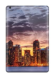 [UWR4496mwwP]premium Phone Cases For Ipad Mini/ City Skyline Cases Covers