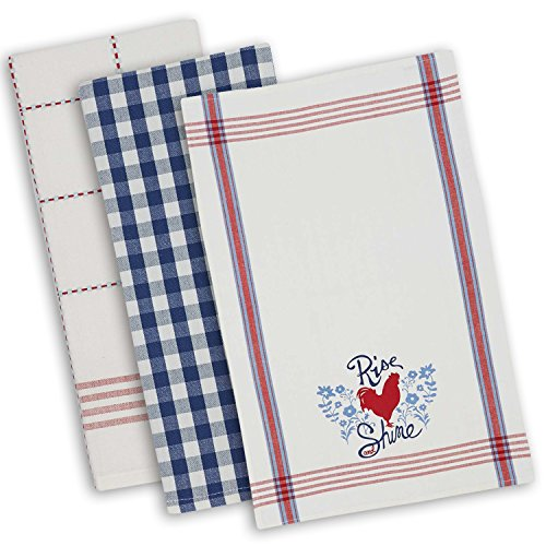 DII Washable Everyday Assorted Dishtowel