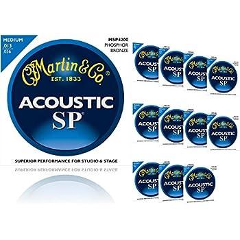 bulk 12 sets martin sp acoustic guitar strings medium gauge phosphor bronze. Black Bedroom Furniture Sets. Home Design Ideas