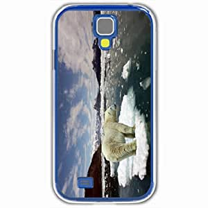 Personalized Samsung Galaxy S4 SIV 9500 Back Cover Diy PC Hard Shell Case Polar White