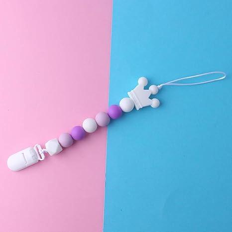 JAGETRADE Clip simulado Baby Silicone Chupete Clips BPA Free ...