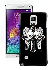 Unique And Luxurious Designed For Samsung Galaxy Note 4 N910A N910T N910P N910V N910R4 Cover Case With Affliction 15 Black Phone Case