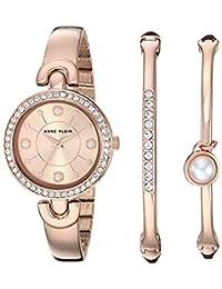 Reloj Anne Klein Swarovski Crystal Accented para Mujer 30mm