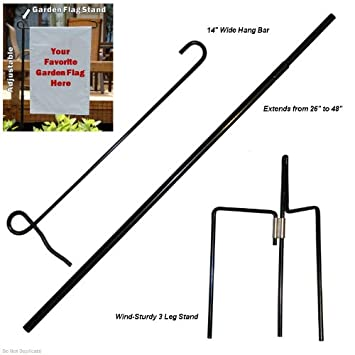 garden flag pole home depot stand for mailbox