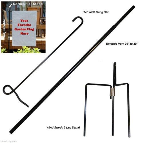 Garden Flag Pole Stand