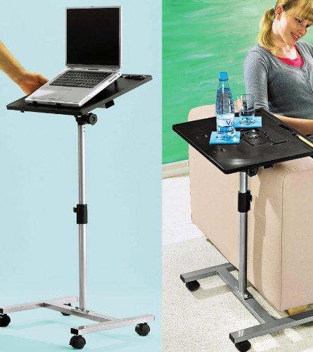 Notebooktisch Laptoptisch Laptop Notebook Tisch auf Rollen verstellbar Halterung