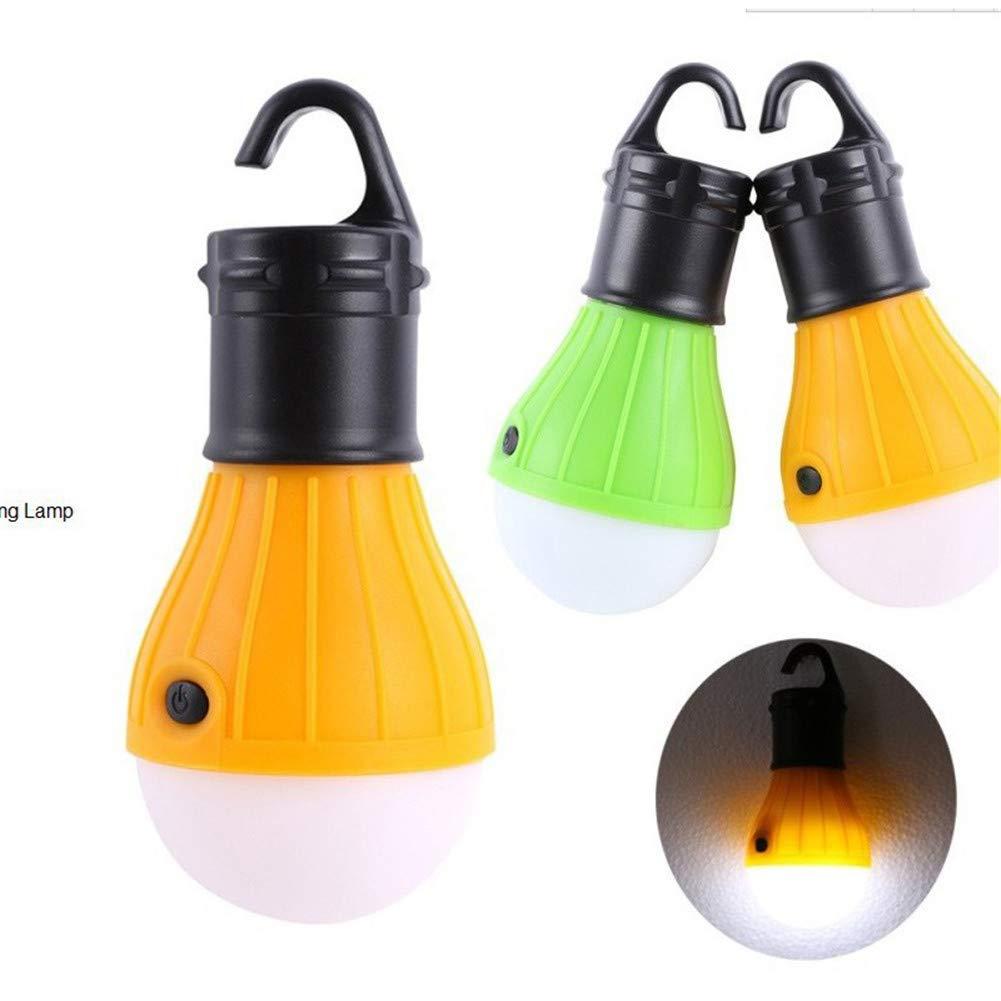 ulofpc Bombilla de la Linterna del Campamento LED compacta para Acampar Senderismo Luces de Emergencia l/ámpara port/átil Alimentado por bater/ía