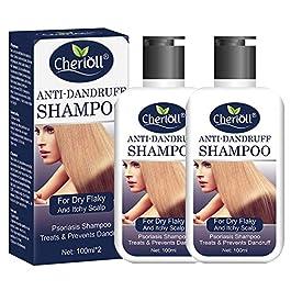 Anti-Dandruff Shampoo, Psoriasis Shampoo, Treats & Prevents Dandruff, Healthy Scalp Treatment, For Dry Flaky and Itchy Scalp, Daily Use Hair Treatment 2pc