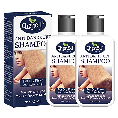 Anti-Dandruff Shampoo, Psoriasis Shampoo, Treats & Prevents Dandruff, Healthy Scalp Treatment, For Dry Flaky and Itchy…