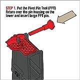 Real Avid Pivot Pin Tool (AVAR15PPT), Red