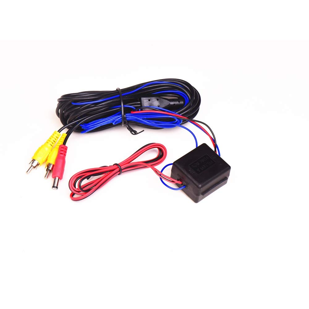 1 . Signal filter for reversing cameras for CAN-Bus vehicles clocked reversing lamps