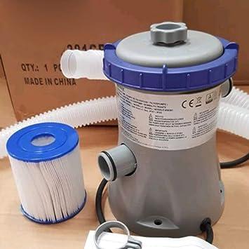 fasloyu Electric Piscina Bomba de Filtro - - sustitución flowclear Bomba de Filtro de la Piscina