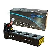 Genuine Contixo Rechargeable LiPo Battery - 7.4V 2100mAh LiPo Battery for Contixo F18 Quadcopter Drone