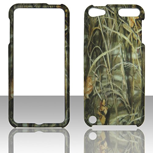 2D Camo Hay Apple Ipod Touch 5 5th , 6 6th Generation Case Cover Hard Phone Case Snap-on Cover Rubberized Touch Faceplates