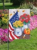 Fall Freedom Patriotic Autumn Garden Flag Review