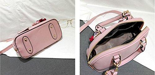 À À Sac Meaeo Perle Rouge Main Nouveau Fleur Sac Bandoulière Pink Bandoulière qCORxWwSR0