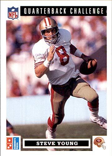 - 1991 Domino's Quarterbacks #26 Steve Young (ex) SAN FRANCISCO 49ers HOF BYU COUGARS (Box185MP)