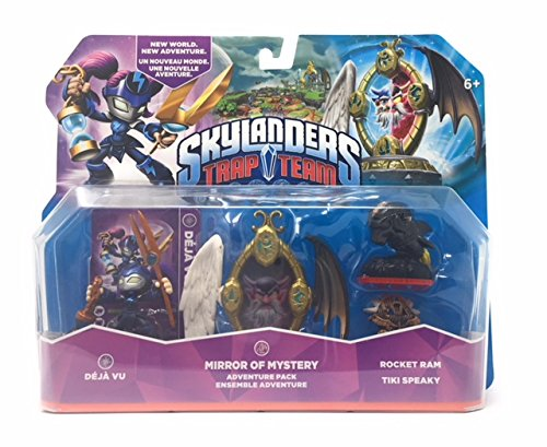 Power A Skylanders Trap Team Bundle Deja Vu Mirror of Mystery Rocket Ram Tiki Speaky