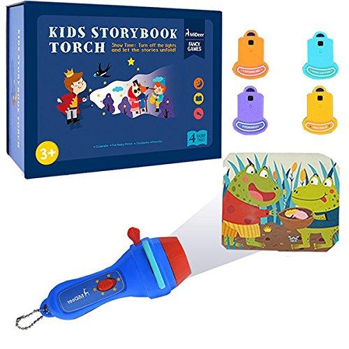 MITOY Proyector Linterna para niños Libro de cuentos ...