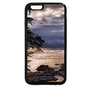 iPhone 6S / iPhone 6 Case (Black) windy rocky cove