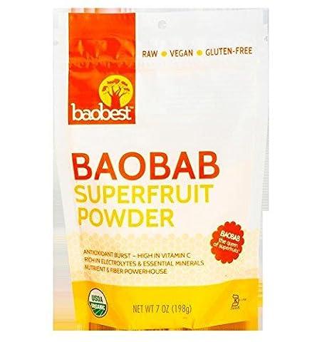 Baobest Baobab Fruit Powder, 7 Ounce - Coffee Yogurt