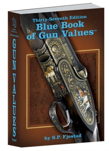 Blue Book 37th Edition of Gun from Blue Book