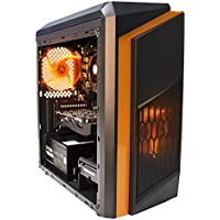 Axitron Tyrant Radeon RX 460 FX-6300 6-Core 1TB HDD 8GB RAM Windows 10 Gaming PC - Orange
