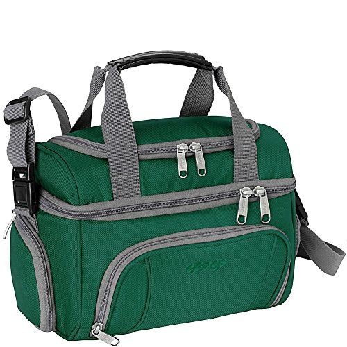 (eBags Crew Cooler JR. - Soft Sided Insulated Lunchbox - For Work, Travel & Weekends - (Emerald))