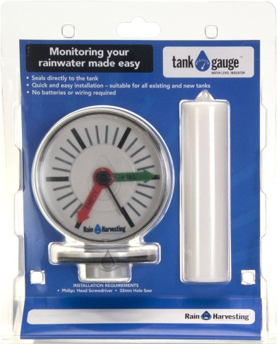 Water Tank Sensor - Rain Harvesting Pty Ltd TATG02 Tank Gauge Level Indicator44; Monitoring Your rainwater Made Easy