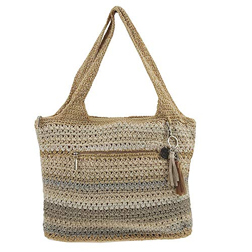 The Sak Women's Casual Classics Large Tote Sand Stripe 1 One Size
