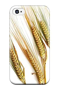For Iphone 4/4s Protector Case Wheat Spikes Phone Cover