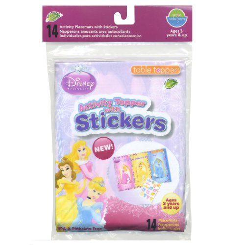 Solutions Activity Stickers Disney Princess product image