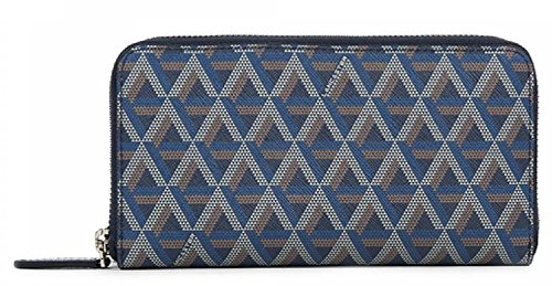 lancaster-long-zip-around-wallet-dark-blue