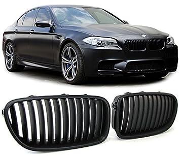 Rejillas delanteras sport riñones frontales color negro mate (ver vehículos compatibles en la descripción) Parrillas negras de calandra delantera M5 look: ...