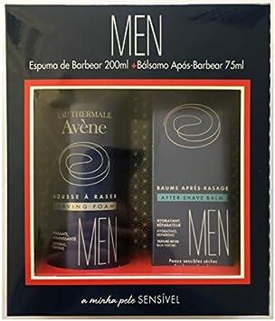 Avène Hombre Pack espuma de afeitar 200ml + Bálsamo después de afeitar 75ml: Amazon.es: Salud y cuidado personal