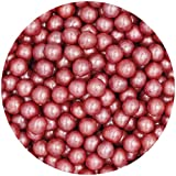 Natural 8mm Red Nuts Dairy Soy Gluten GMO Free shimmer Pearls Bulk Pack