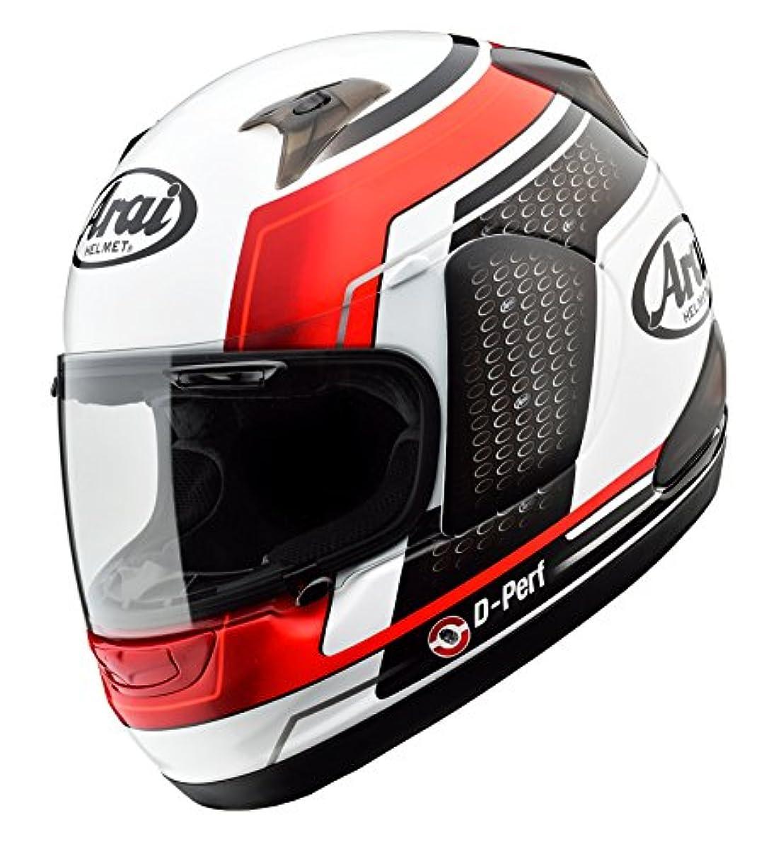 [해외] 아라이(ARAI 아라이 헬멧) 오토바이 헬멧 풀 페이스 ASTRO-IQ TEAM 화이트/레드 (55-56)