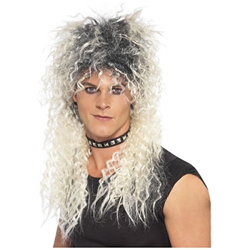 Rocker Zombie Adult Wig (Hard Rocker Wig Costume Accessory)