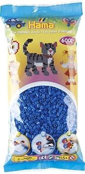 Hama - 205-18 - Loisirs Créatifs - Sachet 6000 Perles à Repasser - Taille Midi - Noir 0644047 Loisir Créatif