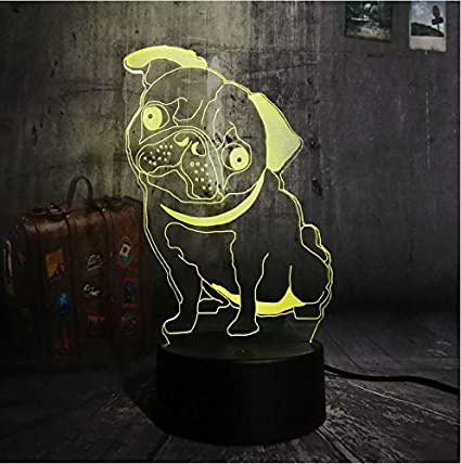 Lights & Lighting Cartoon Puppy Led Night Light Sleeping Lamp Baby Room Dog Usb Table Lamp Desk Light For Bedroom Home Decor Kids Gift New Year Attractive Fashion Led Lamps